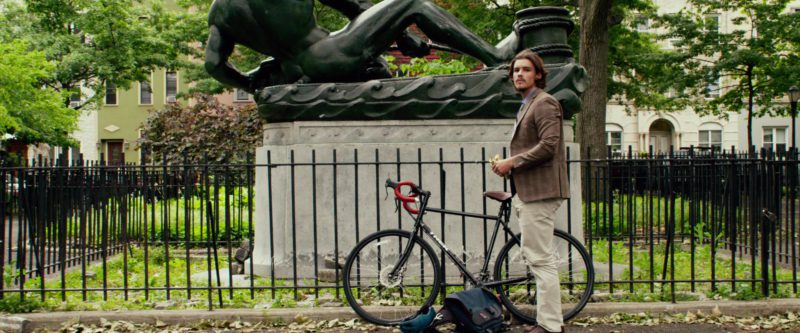 Trek Bicycle Used by Brenton Thwaites in An Interview with God (2018) Movie Product Placement