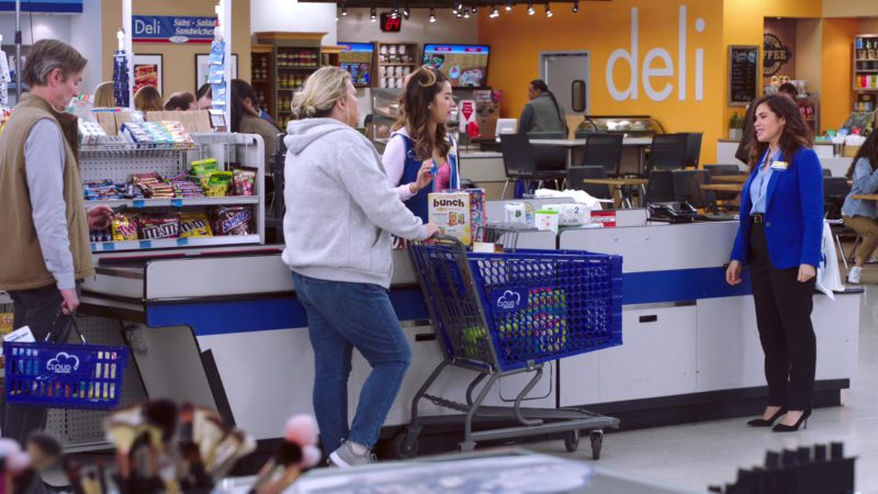 Twix, M&M's and Snickers in Superstore - Season 4, Episode 15, Salary (2019) TV Show Product Placement