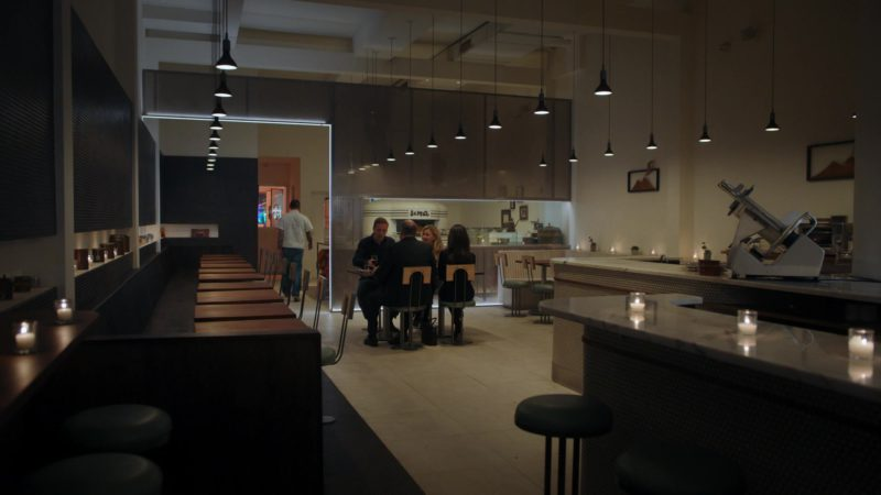 Una Pizza Napoletana Restaurant in Billions – Season 4 Episode 5, A Proper Sendoff (2019) TV Show Product Placement