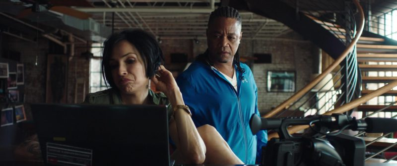 Under Armour Blue Jacket Worn by Cuba Gooding Jr. in Bayou Caviar (2018) Movie Product Placement