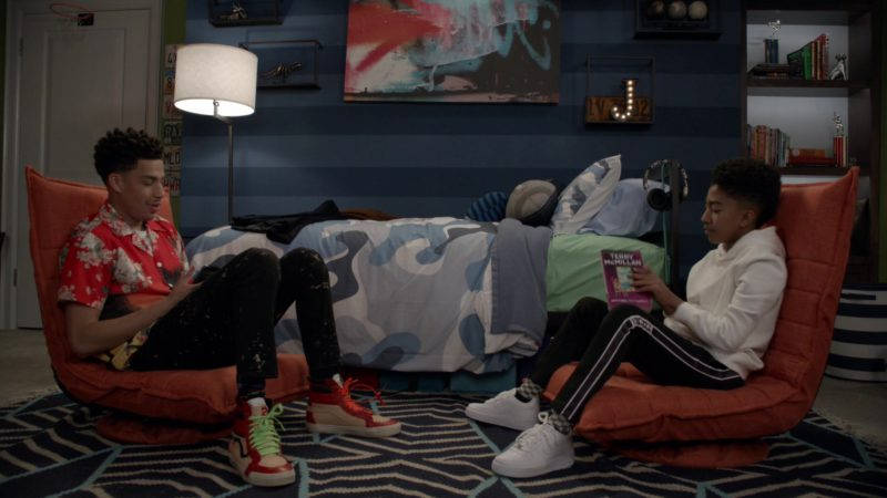 Vans Sneakers Worn by Marcus Scribner in Black-ish – Season 5, Episode 19, Under the Influence (2019) - TV Show Product Placement