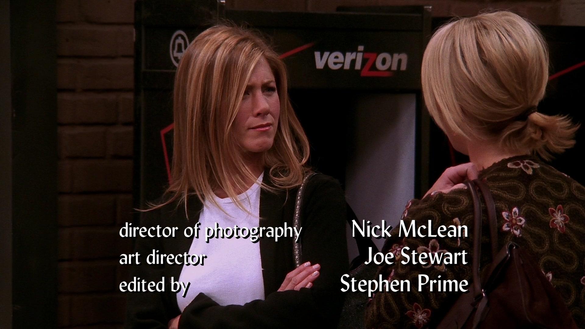 "Verizon Payphone in Friends Season 10 Episode 5 ""The One"