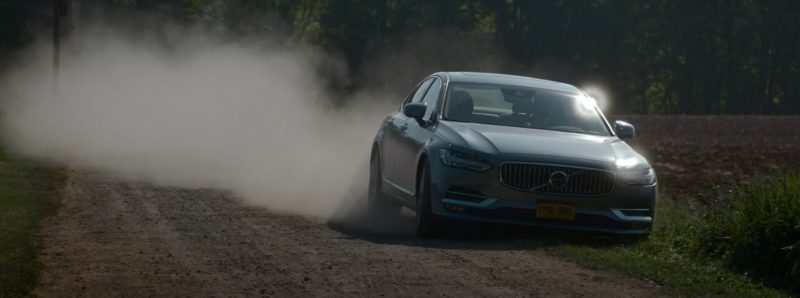 Volvo Car Used by Beau Knapp in Crypto (2019) - Movie Product Placement