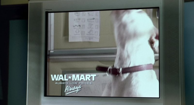 Walmart Store TV Advertising in Garfield (2004) - Movie Product Placement