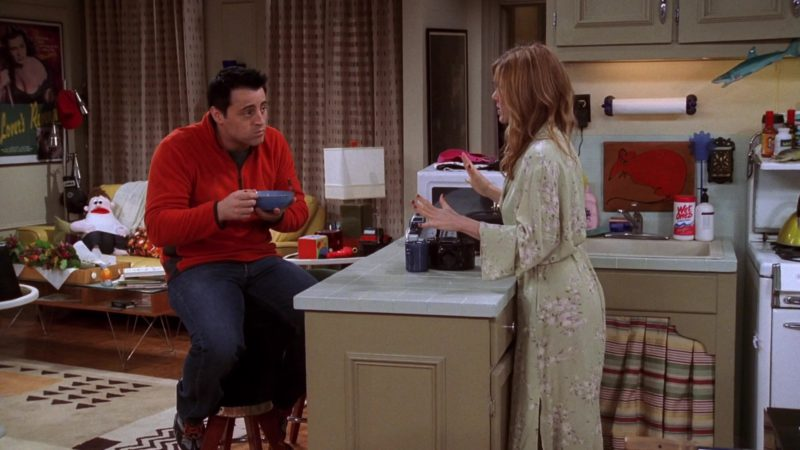 """Wet Ones Antibacterial Hand Wipes in Friends Season 10 Episode 12 """"The One with Phoebe's Wedding"""" (2004) - TV Show Product Placement"""