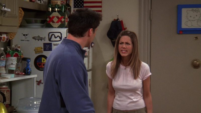 "XX Beer Pack in Friends Season 9 Episode 20 ""The One With the Soap Opera Party"" (2003) TV Show Product Placement"