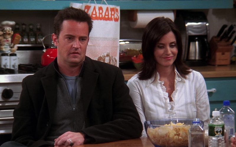 Zabar's Store Paper Bag in Friends Season 10 Episode 10