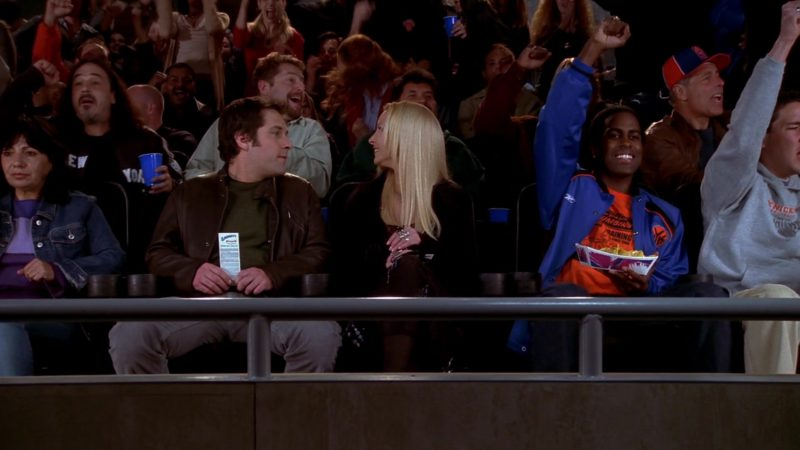 "Reebok Men's Blue Jacket in Friends Season 10 Episode 5 ""The One Where Rachel's Sister Baby-Sits"" (2003) - TV Show Product Placement"
