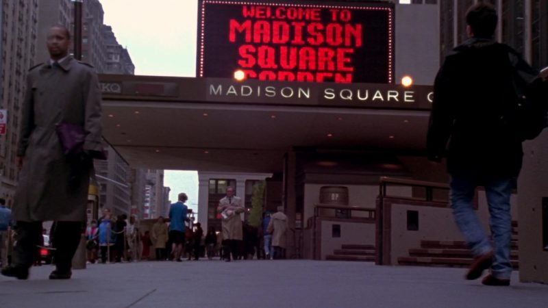 """Madison Square Garden in Friends Season 10 Episode 5 """"The One Where Rachel's Sister Baby-Sits"""" (2003) - TV Show Product Placement"""