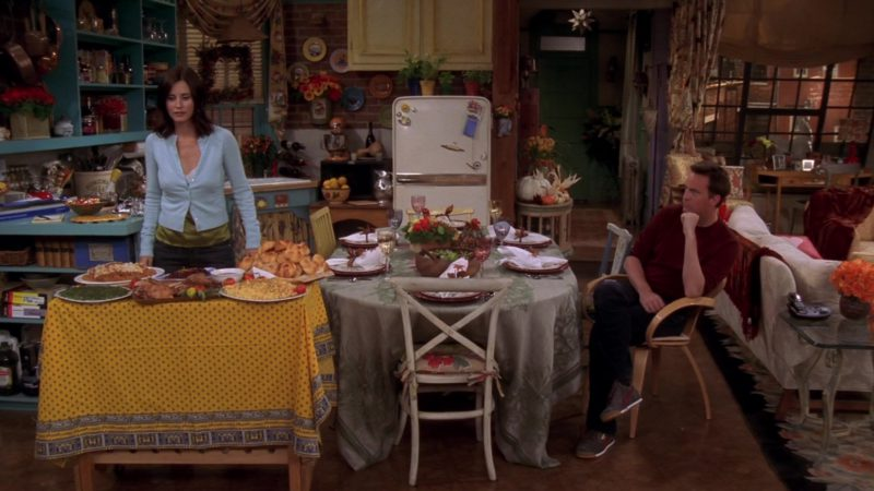 """Puma Sneakers Worn by Matthew Perry (Chandler Bing) in Friends Season 10 Episode 8 """"The One With the Late Thanksgiving"""" (2003) TV Show Product Placement"""