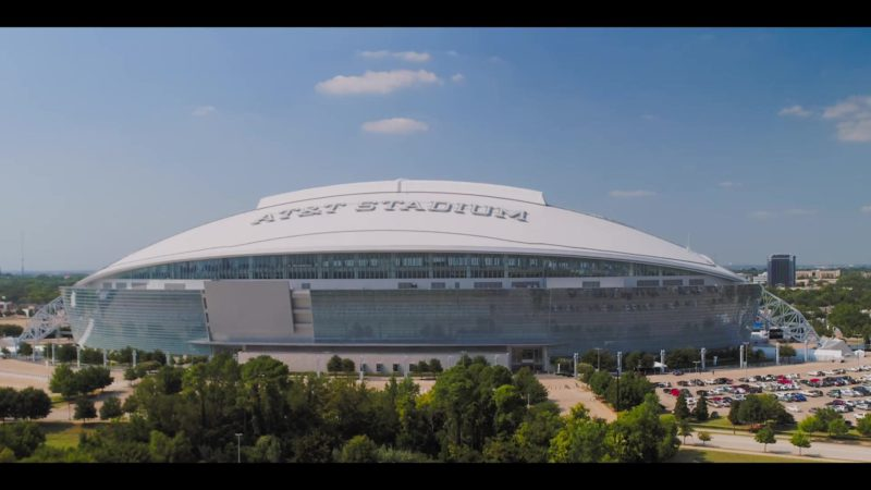 AT&T Stadium in Walk. Ride. Rodeo. (2019) - Movie Product Placement