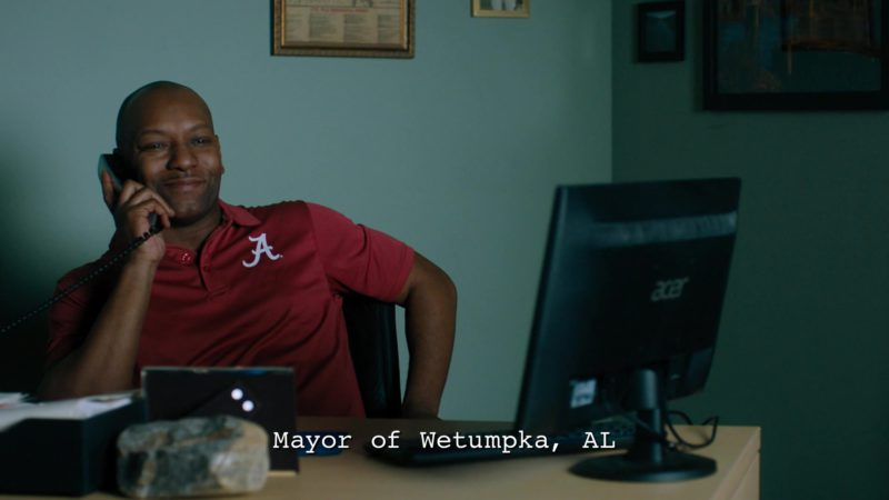 Acer Computer Monitor in Billions - Season 4 Episode 9, American Champion (2019) - TV Show Product Placement