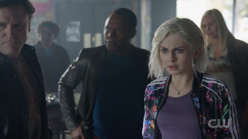 Adidas Floral Bomber Jacket Worn by Rose McIver in IZombie - Season 5, Episode 2, Dead Lift (2019) TV Show Product Placement