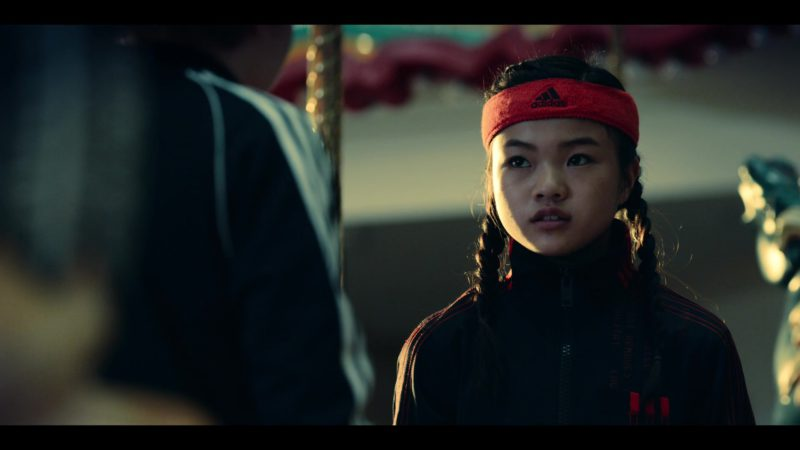 Adidas Headband  Worn by Miya Cech in Rim of the World (2019) - Movie Product Placement