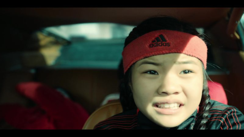 Adidas Headband  Worn by Miya Cech in Rim of the World (2019) Movie Product Placement