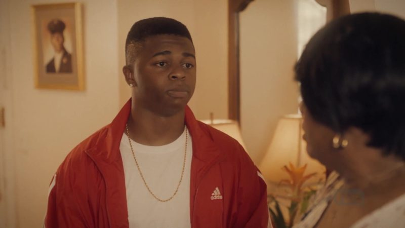 Adidas Red Track Jacket in The Last O.G. - Season 2, Episode 8 (2019) TV Show Product Placement