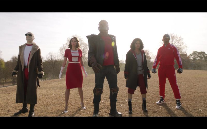 Adidas Tracksuit (Red) Worn by Joivan Wade (Cyborg) in Doom Patrol (7)