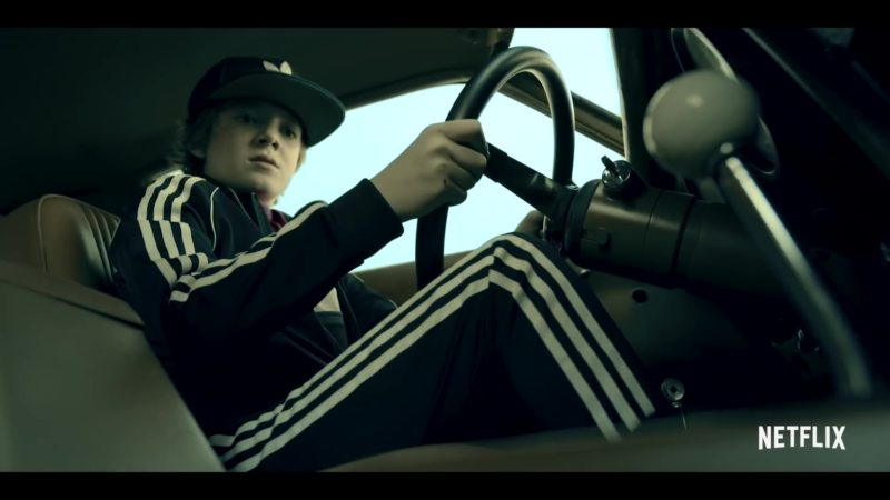 Adidas Tracksuit and Cap Worn by Jack Gore in Rim of the World (2019) Movie Product Placement