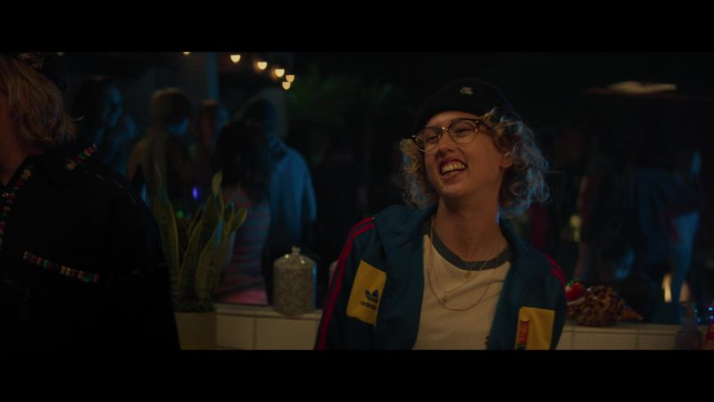 Adidas Women's Track Jacket in Booksmart (2019) Movie Product Placement