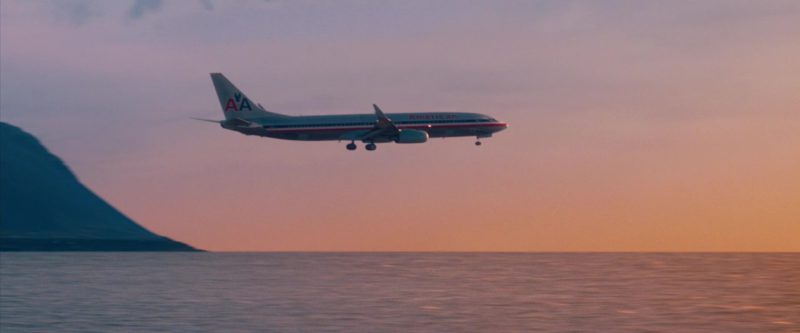 American Airlines Aircraft in The Secret Life of Walter Mitty (2013) - Movie Product Placement
