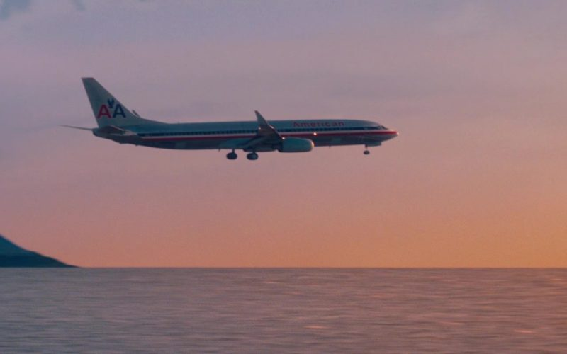 American Airlines Aircraft in The Secret Life of Walter Mitty (1)
