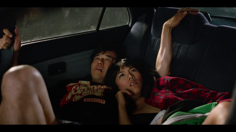 Amoeba Music Berkeley T-Shirt Worn by Randall Park and Calvin Klein Bra worn by Ali Wong in Always Be My Maybe (2019) Movie Product Placement