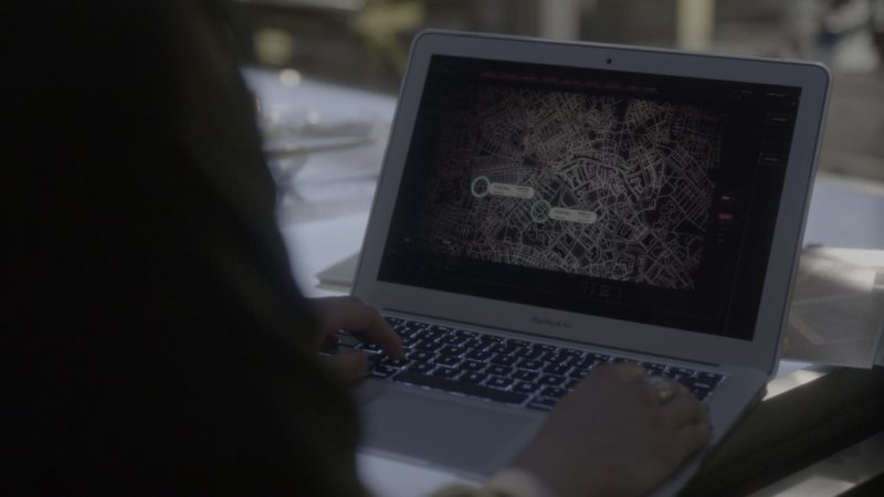 Apple MacBook Air Laptop Used by Aimee Garcia in Lucifer - Season 4, Episode 1, Everything's Okay (2019) - TV Show Product Placement