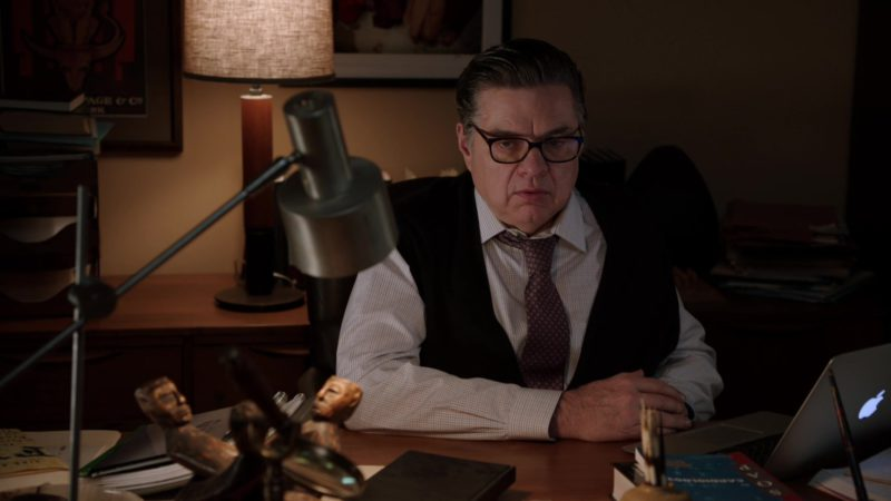 Apple MacBook Air Laptop Used by Oliver Platt in Chicago Med - Season 4, Episode 21, Forever Hold Your Peace (2019) TV Show Product Placement