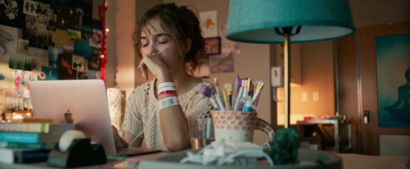 Apple MacBook Laptop (Rose Gold)  Used by Haley Lu Richardson in Five Feet Apart (2019) Movie Product Placement