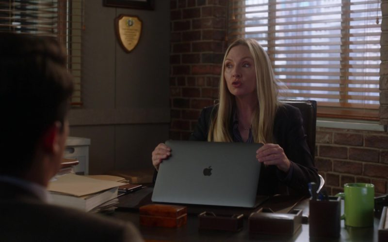 Apple MacBook Laptop Used by Hope Davis in For the People
