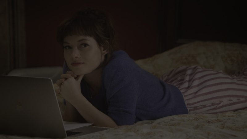 Apple MacBook Laptop Used by Jane Levy in What/If - Season 1, Episode 7, What Ghosts (2019) - TV Show Product Placement