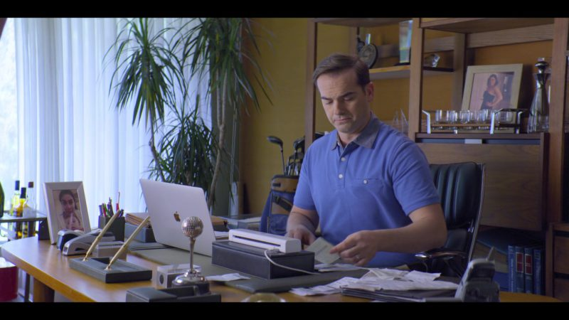 Apple MacBook Laptop Used by Jeff Meacham in Malibu Rescue (2019) - Movie Product Placement