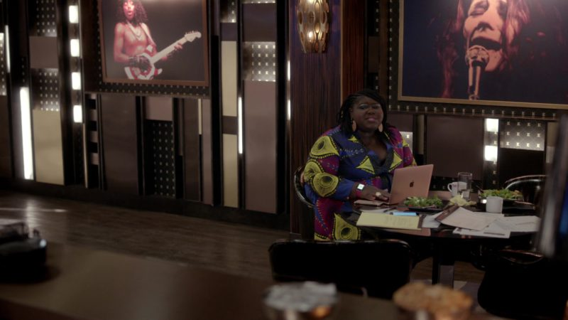 Apple MacBook Rose Gold MacBook Used by Gabourey Sidibe in Empire - Season 5, Episode 18, The Roughest Day (2019) - TV Show Product Placement