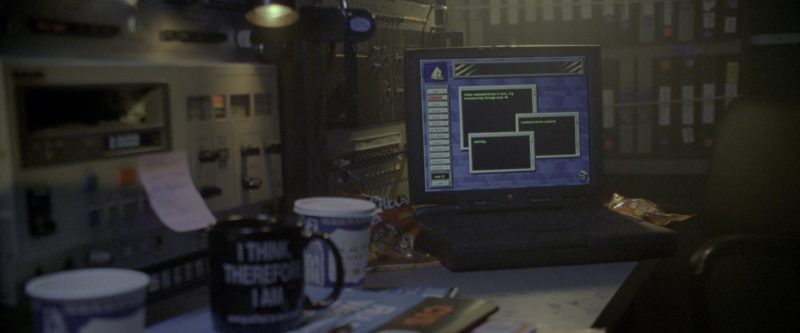 Apple PowerBook Black Laptop in Godzilla (1998) - Movie Product Placement