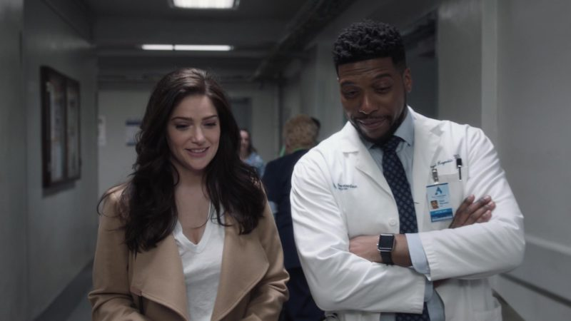 Apple Watch Smartwatch Worn by Jocko Sims in New Amsterdam - Season 1, Episode 21, This Is Not the End (2019) - TV Show Product Placement