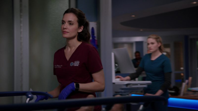 Apple Watch Smartwatch Worn by Torrey DeVitto in Chicago Med - Season 4, Episode 20, More Harm Than Good (2019) TV Show