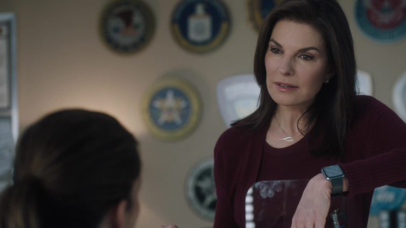 Apple Watch Worn by Sela Ward in FBI Season 1, Episode 20, What Lies Beneath (2019) - TV Show Product Placement