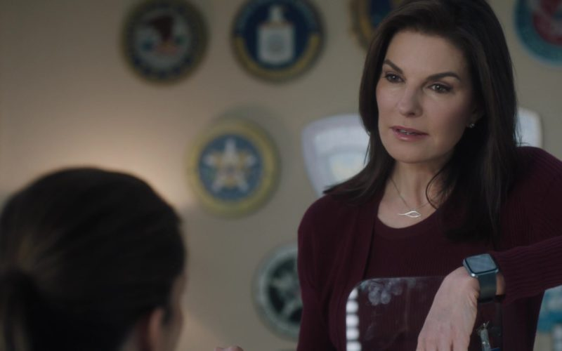 Apple Watch Worn by Sela Ward in FBI Season 1 (1)