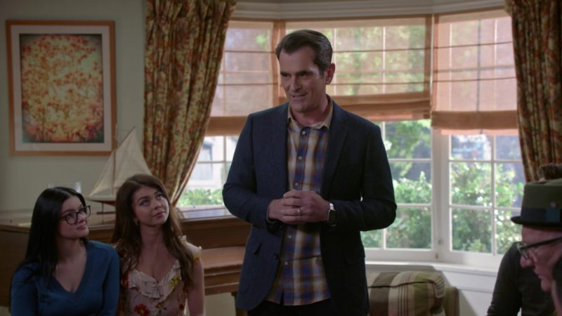 Apple Watch Worn by Ty Burrell in Modern Family - Season 10, Episode 22, A Year of Birthdays (2019) - TV Show Product Placement