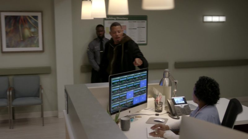 Apple iMac Computers in Empire - Season 5, Episode 18, The Roughest Day (2019) - TV Show Product Placement