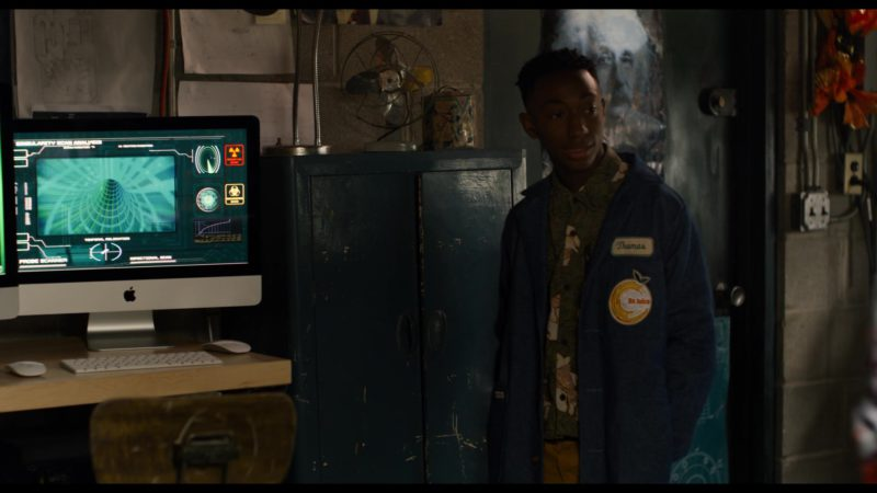 Apple iMac Computers in See You Yesterday (2019) - Movie Product Placement