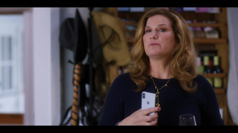 Apple iPhone Smartphone Used by Ana Gasteyer in Wine Country (2019) - Movie Product Placement