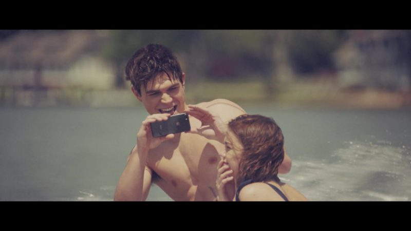 Apple iPhone Smartphone Used by KJ Apa in The Last Summer (2019) - Movie Product Placement