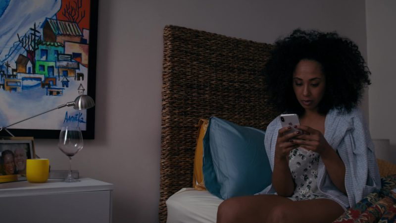 Apple iPhone Smartphone Used by Margot Bingham in She's Gotta Have It - Season 2, Episode 6, #WhenYourChickensComeHometoRoost (2019) - TV Show Product Placement