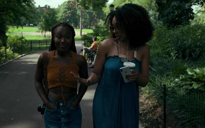 Apple iPhone Smartphone Used by Margot Bingham in She's Gotta Have It