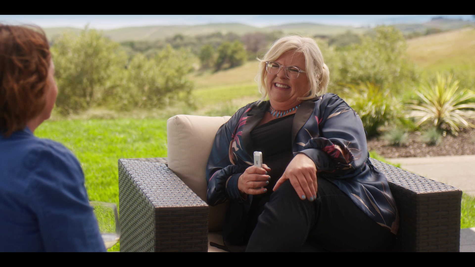 Apple Iphone Smartphone Used By Paula Pell In Wine Country 2019