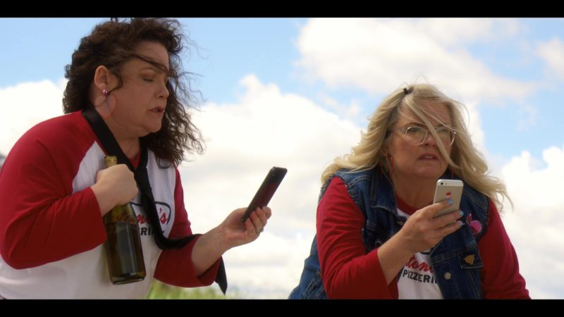 Apple iPhone Smartphone Used by Paula Pell in Wine Country (2019) - Movie Product Placement