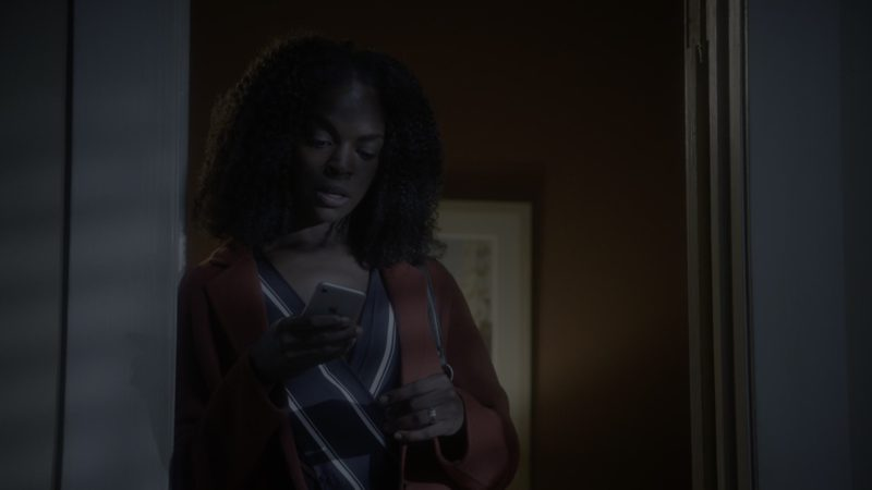 Apple iPhone Smartphone Used by Samantha Marie Ware in What/If - Season 1, Episode 3, What Happened (2019) - TV Show Product Placement