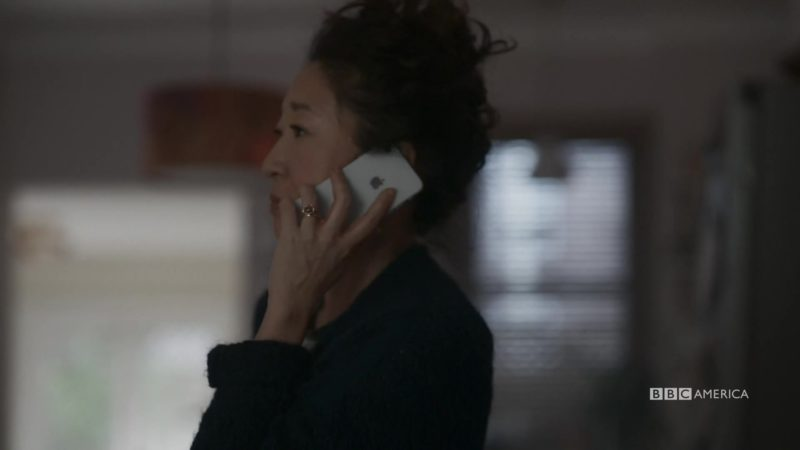 Apple iPhone Smartphone Used by Sandra Oh in Killing Eve - Season 2, Episode 7, Wide Awake (2019) - TV Show Product Placement