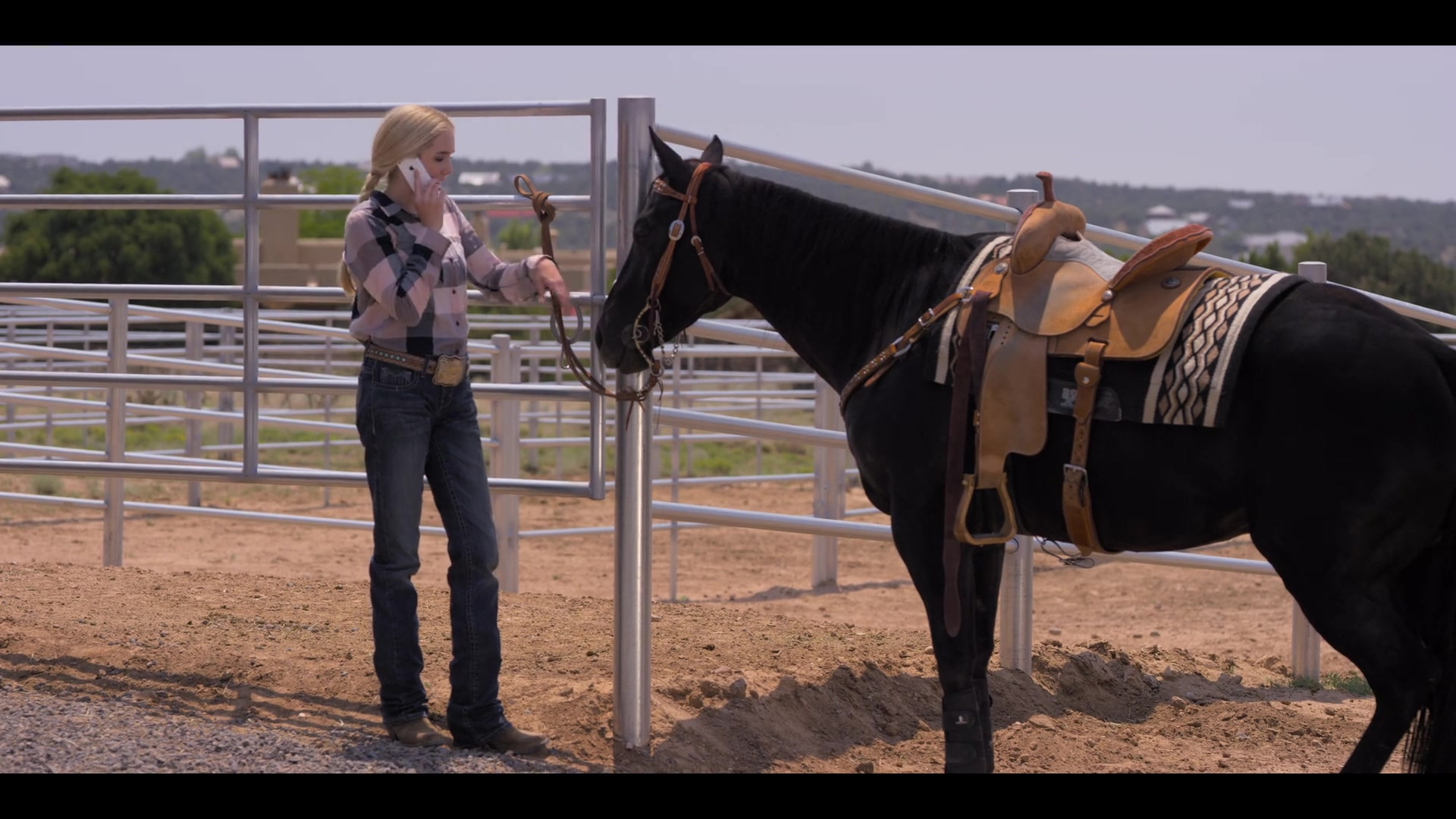 Apple Iphone Smartphone Used By Spencer Locke In Walk Ride Rodeo 2019 Movie